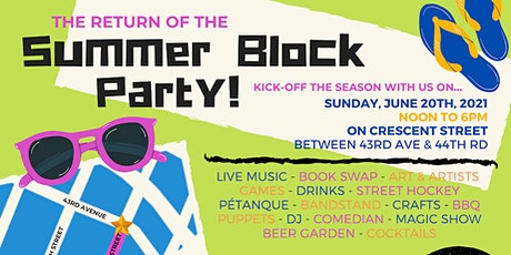 Return of Summer Party - Long Island City Court Square tickets