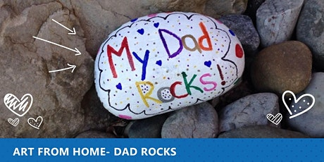 Art From Home - Dad Rocks tickets