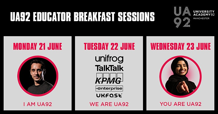 UA92 EDU Breakfast Sessions image