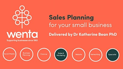 Sales planning for your small business: Webinar tickets