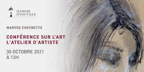Conférence | L'atelier d'artiste tickets