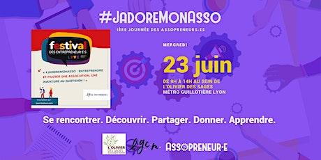#JadoreMonAsso | 1ère journée des Assopreneurs·es billets