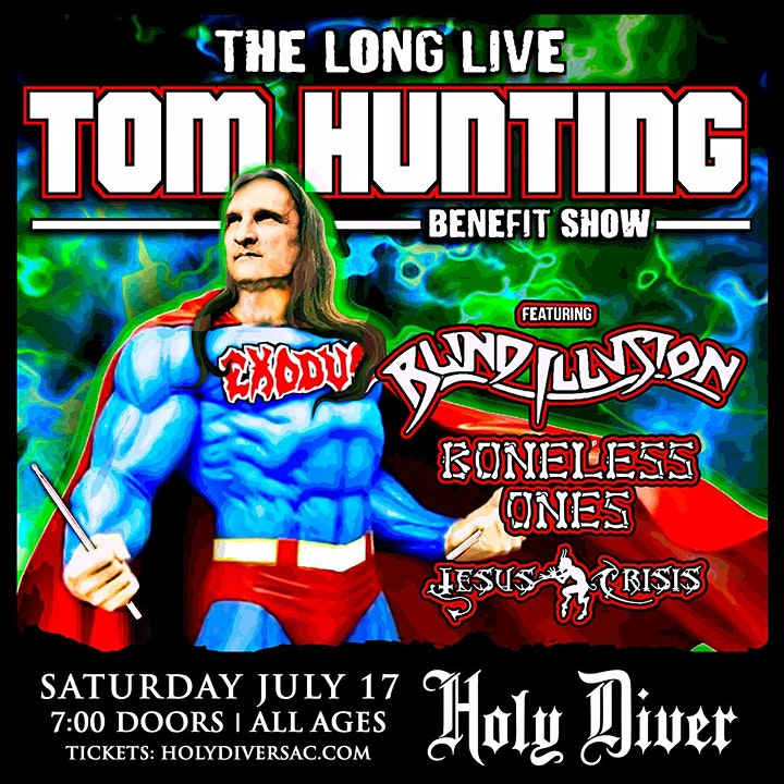 Tom Hunting Benefit Show image