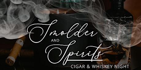 Smolder & Spirit: Cigar & Whiskey Night tickets