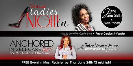 """WRW Conference  """"Virtual Ladies Night In"""" tickets"""