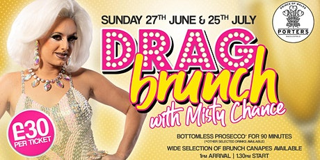 Porters Drag Brunch with Misty Chance tickets