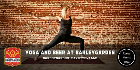 Yoga and Beer at Barleygarden Fayetteville tickets