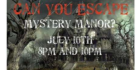 Escape Mystery Manor tickets