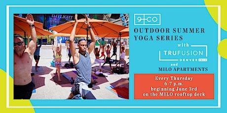 Outdoor Summer Yoga Series tickets