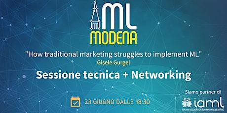 Machine Learning Modena Meetup Giugno 2021 biglietti