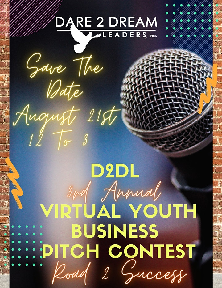 """3rd Annual Pitch Contest & Youth Conference """"Road 2 Success"""" image"""
