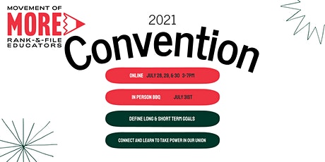MORE 2021 Convention tickets