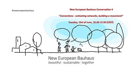 New European Bauhaus Conversation #4   Connections * Activating Networks tickets