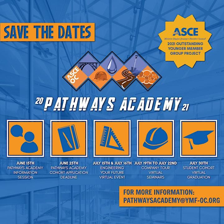 ASCE OC - 2021 Pathways Academy: Scholar Info Session image