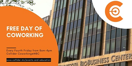 Free Day of Coworking tickets