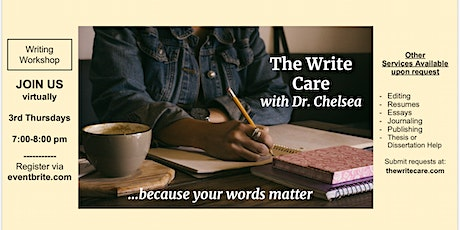 The Write Care - A FREE writing group. tickets