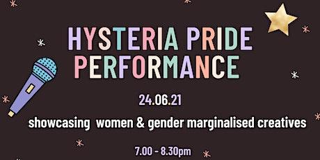 Hysteria Pride Performance Night tickets