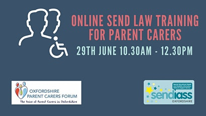 SEND Law Training with Oxfordshire SENDIASS tickets