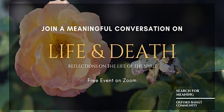 Life and Death - A Meaningful Conversation tickets