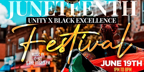 Juneteenth: Unity x Black Excellence Festival 2021 tickets