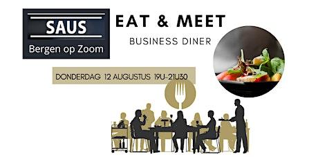 Business Diner voor ondernemers in Bergen op Zoom tickets