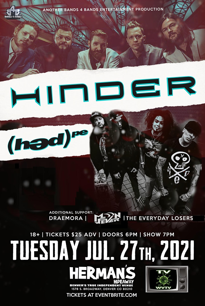 HINDER with(hed)P.E. image
