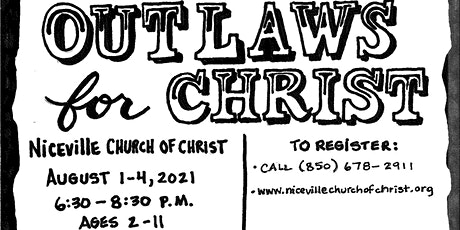 Outlaws for Christ VBS at NCOC tickets