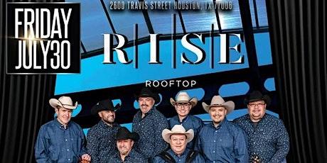 David Lee Garza y Los Musicales & The Voice Jay Perez at RISE Rooftop tickets
