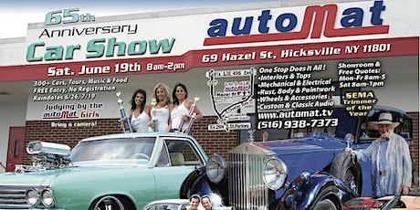 AutoMat Custom & Restoration 65th Anniversary Car Show tickets