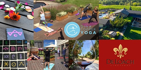 Summer Celebration Yoga at DeLoach Vineyards with Gina Cooper tickets