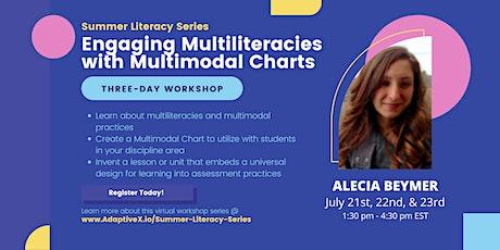 Summer Literacy Series: Engaging Multiliteracies w/ Charts (Alecia Beymer) tickets
