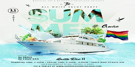 The All White Party Summer Cruise (Lgbt Sunday Funday) tickets