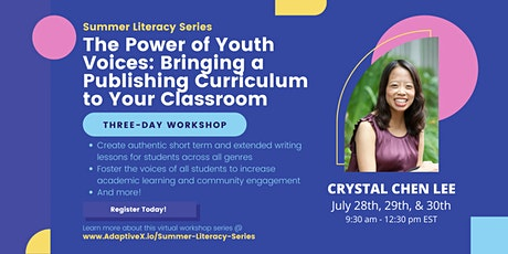 Summer Literacy Series: The Power of Youth Voices (Crystal Chen Lee) tickets