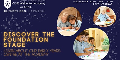 Discover Our Early Years Centre - Find out about The Foundation Stage tickets