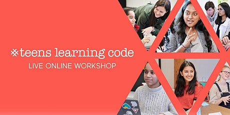 Live Online TeensLC: Generative Art w/ JavaScript (Ages 13-17 ) (2hrs) - Y2 tickets