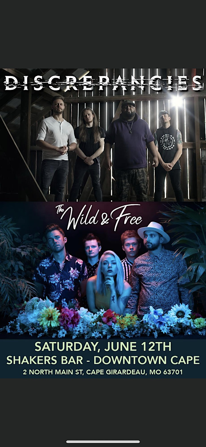 Discrepancies with special guest The Wild and Free image