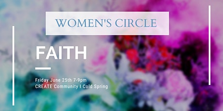 Monthly Women's Circle: Faith tickets