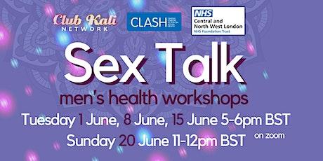 Sex Talk - Men's health workshop tickets