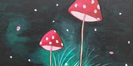 """Paint and Sip Event """"Midnight Mushrooms"""" tickets"""