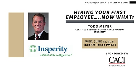 Hiring Your First Employee…..Now What? tickets
