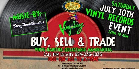 Vinyl Records Show - Buy, Sell & Trade Event at Holy Mackerel tickets
