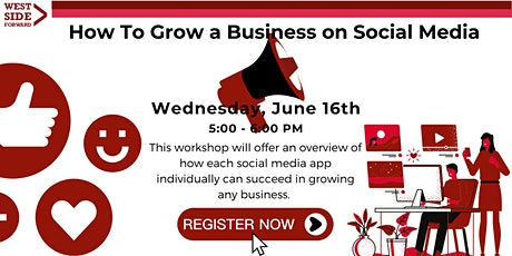 How to Grow a Business on Social Media tickets