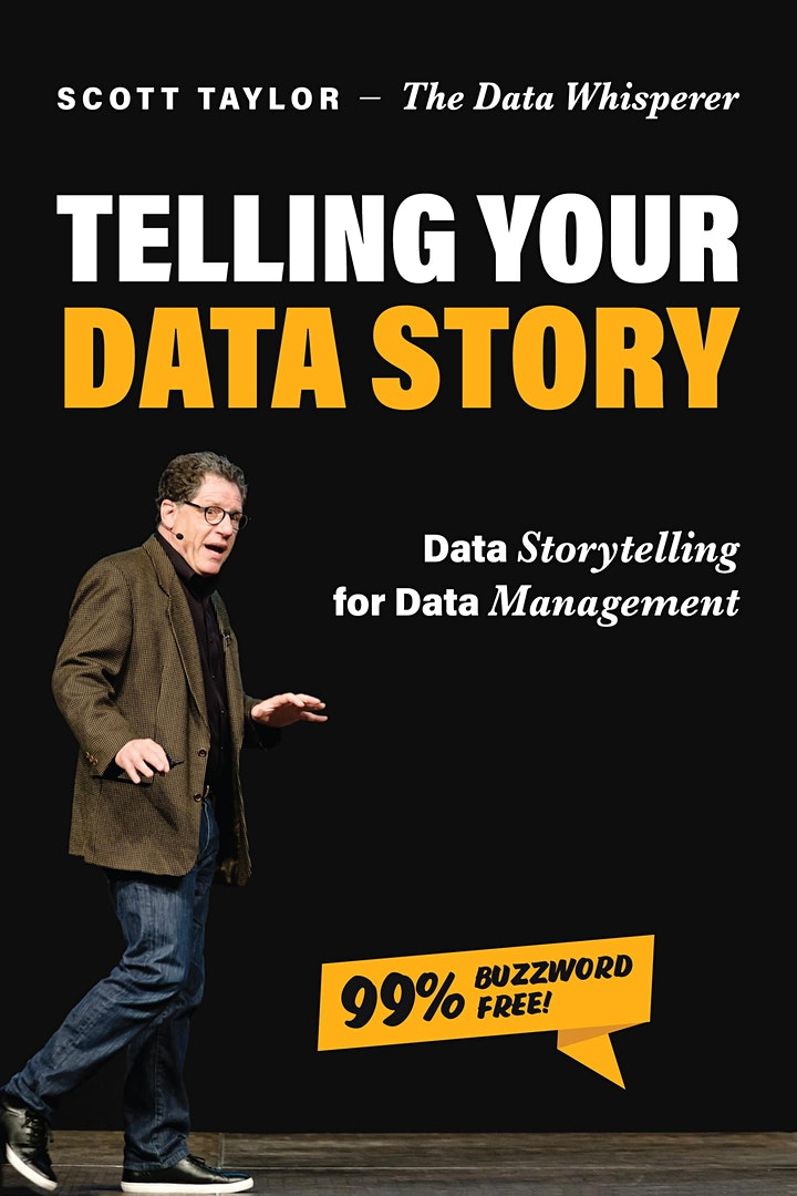 DAMA-RMC: Telling Your Data Story With the 3Vs: Vocabulary, Voice, & Vision image