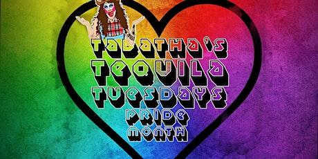 TABATHA Presents TABATHA'S TEQUILA TUESDAY PRIDE EDITION! 06/22/21 tickets
