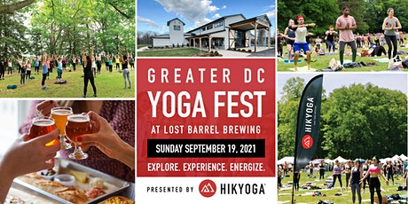 Greater DC Yoga Festival Presented by Hikyoga and Lost Barrel Brewing tickets