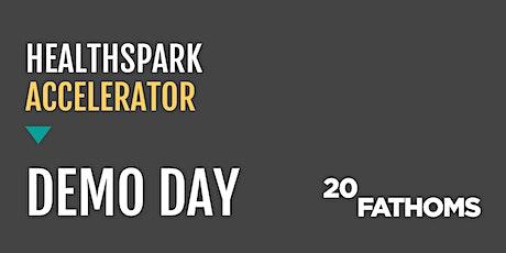 HealthSpark Accelerator Demo Day biglietti