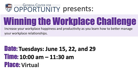 Winning The Workplace Challenge for Business Leaders tickets
