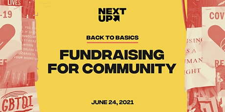 Back-To-Basics: Fundraising for Community tickets