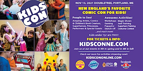 Kids Con New England tickets