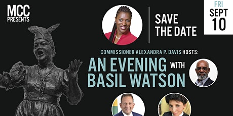 An Evening with Basil Watson - Reception & Moderated Discussion tickets